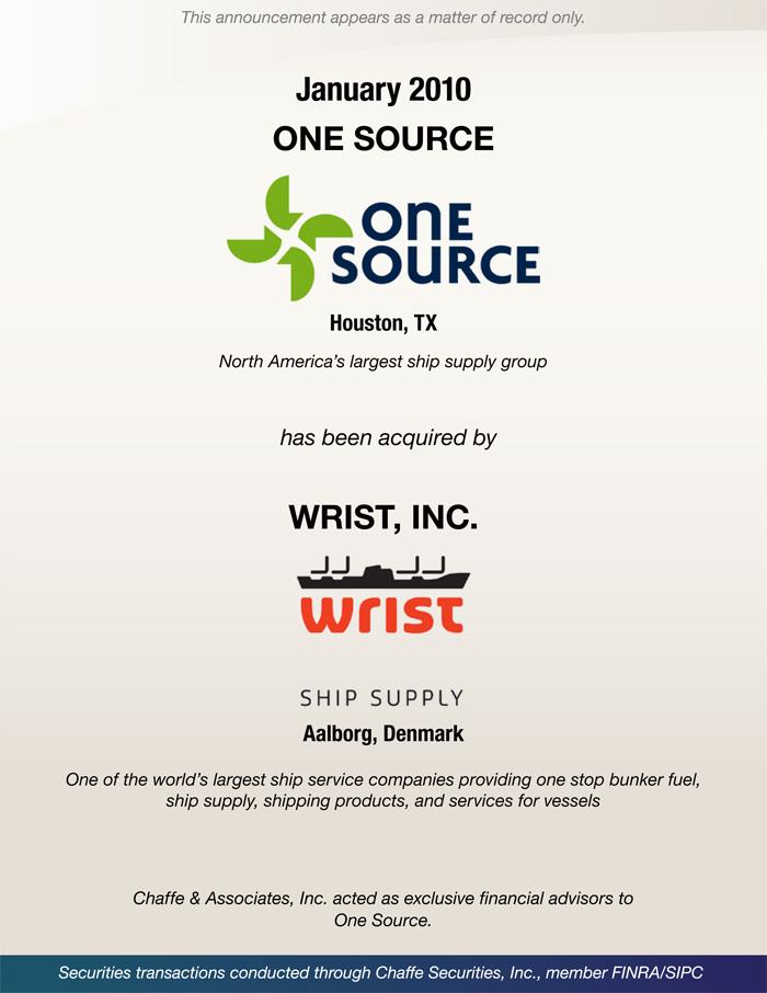 Mergers & Acquisitions   Chaffe & Associates, Inc